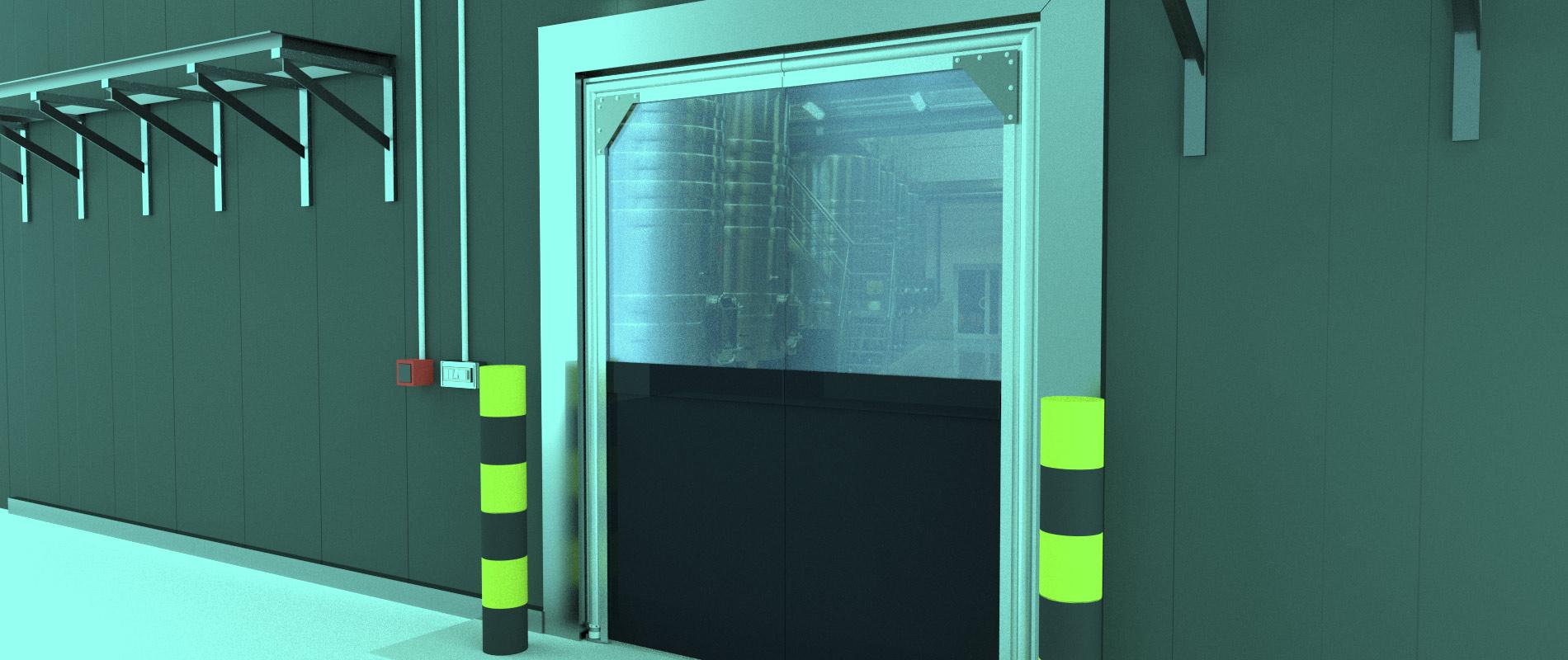 & Crash Doors | Flexible PVC Crash Doors