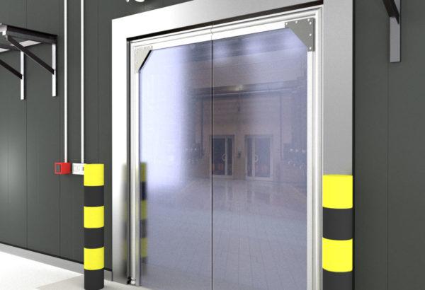 Industrial Kitchen Swing Doors Traffic Doors Crash Doors