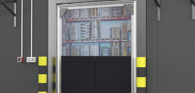 PVC Sheet crash doors can provide all of the same benefits heat insulation durability food safe properties u2013 for a fraction of the cost. & Crash Doors | Flexible PVC Crash Doors pezcame.com